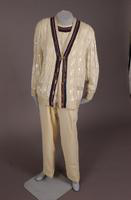 Women's pantsuit evening ensemble from the 1980s