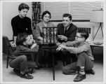 """Elgin Community Theatre production of """"The Desperate Hours"""" in Feb. 1961"""