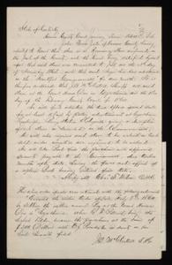 Sale bond of runaway slave boy: John, by George Pollard, Hanisan County, Ky.