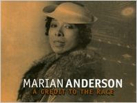 """Invitation to the gala premiere of Vanessa Shaw's """"Marian Anderson: A Credit to the Race,"""" 7 Stages Theatre, Atlanta, Georgia, November 3, 1999"""