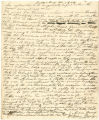 Explanation to magistrate by Anna Dorsey in case against Owen S. Cecil over nonpayment of bill for use of slave named Hanson, dated August 21, 1834
