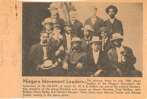 Thumbnail for Niagara Movement leaders