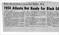 Race Relations - Newspaper Clippings