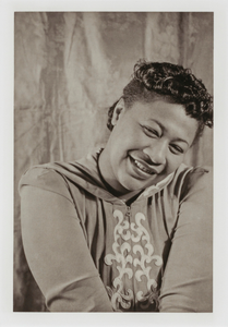 "Ella Fitzgerald, from the unrealized portfolio ""Noble Black Women: The Harlem Renaissance and After"""