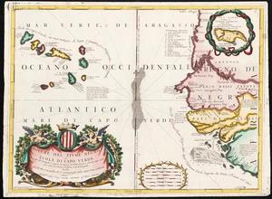 Bocche del Fiume Negro et Isole di Cape Verde: possedute dà Portoghesi, scoperte da Antonio di Nola Genouese nell' anno 1440, ouero 1460, sotto la protettione d'Alfonso V. Rè di Portogallo