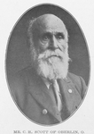 Mr. C. H. Scott of Oberlin, O.; Helped in the Underground Railroad