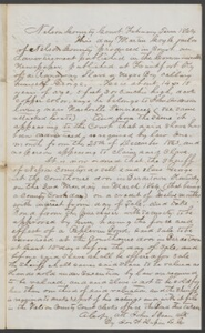Court documents relating to the sale of runaway slave: George, belonging to John Anderson of Nashville, Tenn., Nelson County, Ky.