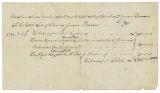 Bill of sale, July 7, 1787