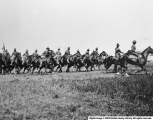 Black Soldiers Maneuvering at Fort Duchesne