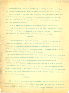 Bylaws of the National Association for the Advancement of Colored People [fragment]
