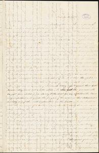 Letter from Sarah Moore Grimkè, Fort Lee, [New York], to Elizabeth Pease Nichol, 1838 [November] 16