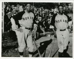 "Mohawk Giants players Buck Ewing and Edward ""Eagle"" Durant"