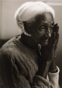Untitled (Elderly Afro-American woman with braid, Mary)