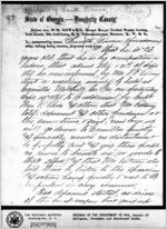 Affidavit of Smith Bowen: Albany, Georgia, 1868 Sept. 25