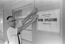 Voter registration, Prentiss, October 1965