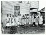 Butler County Emergency School homemaking class