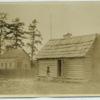 Baptist church and one-room school house