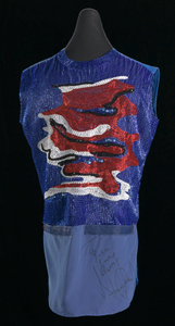 Shirt worn by Michael Jackson during Victory tour