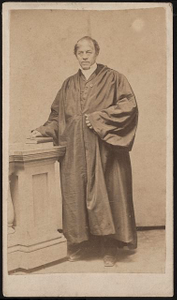 """[Reverend Leonard Grimes, abolitionist, conductor on the Underground Railroad, and first pastor of Twelfth Baptist Church (""""The Fugitives Church""""), Boston]"""