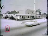 WSB-TV newsfilm clip of the community returning to normal after a riot, Savannah, Georgia, 1962 November 11