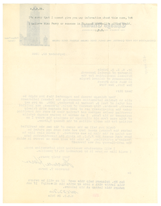 Note from Arthur B. Spingarn to W. E. B. Du Bois