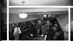 [Shoppers in ladies' wear at Fair Department store, ca. 1930s : cellulose acetate photonegative, banquet camera format]