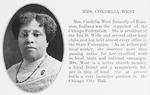 Mrs. Cordelia West