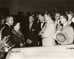 30. 1961: Merle, His Former Teacher, and Guests at His Swearing-In Ceremony as U.S. Attorney