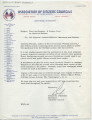Thumbnail for Letter from Bob to Citizens' Council Officers, Members, and Friends