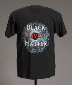 T-shirt featuring Black Lives Matter graphic
