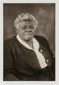 "Mary McLeod Bethune, from the unrealized portfolio ""Noble Black Women: The Harlem Renaissance and After"""