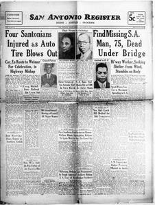 San Antonio Register (San Antonio, Tex.), Vol. 8, No. 35, Ed. 1 Friday, December 2, 1938 San Antonio Register