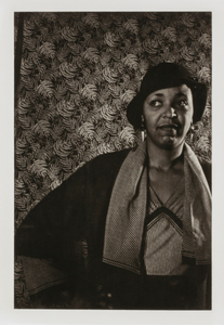 "Ethel Waters, from the unrealized portfolio ""Noble Black Women: The Harlem Renaissance and After"""