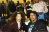 Terry McMillan and Eugene Redmond