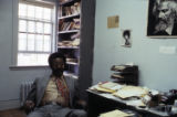 John Blassingame in office, Yale University, 1979.(Box 136)