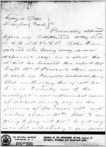 Affidavit of John Davis: Albany, Georgia, 1868 Sept. 26