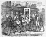 Escape of eleven passengers from Maryland in two carriages; Escaping with masters carriages and horses