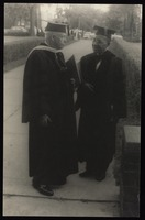 Carl Van Vechten with President Charles S. Johnson of Fisk University, Nashville, Tennessee
