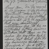 Correspondence. (Box 1, Folder 6)