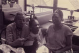Amiri Baraka, Eleanor Traylor, and Amina Baraka