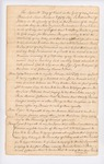 Last Will & Testament of Andrew Neal of Kittery, 1756
