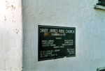 St. James A.M.E. Church plaque
