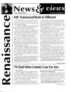 Renaissance News & Views, Vol. 9 No. 12 (December 1995)