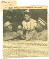 Negro WAACs and soldiers entertained; Register (Des Moines, Iowa); Women's military activity