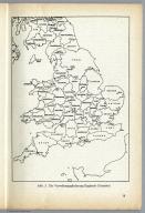 Abb. 3. Die Verwaltungliederung Englands (Counties) Unternehmen Seelöwe (Operation Sea Lion - the Original Nazi German Plan for the Invasion of Great Britain) Figure 3. Counties of England