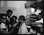 Sidney Poitier at Howard [University], May 1964 [cellulose acetate photonegative]