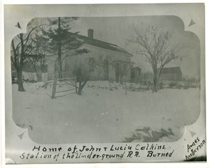John and Lucia Calkins house