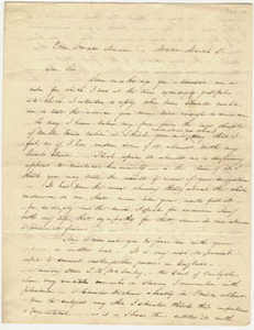 Letter from Harriet Beecher Stowe to Horace Mann, 2 March 1852