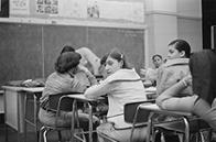 South Bronx High School class