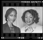 Attallah Shabazz and Yolanda King, 1983